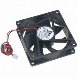 12V DC 80mm 2Pin 80x80x25mm CPU Cooling Computer PC Case Coo