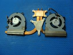 """Samsung 7 NP700Z5C-S02UB 15.6"""" Genuine CPU Cooling Fans w/He"""