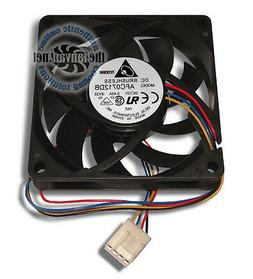 Delta AFC0712DB 70mm x 15mm Ball Bearing PWM Fan 4 Pin Conne