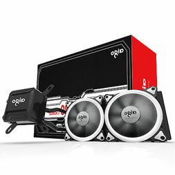 Aigo All-In-One CPU Liquid Cooler Kit 120mm Fans Water Cooli