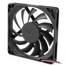80mm 2 Pin Connector Cooling Fan for Computer Case CPU Coole