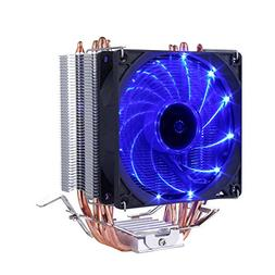 upHere CPU Cooler with 4 Direct Contact Heatpipes, Blue LED
