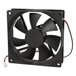 URBEST®90mm x 25mm DC 12V 2Pin Cooling Fan for Computer Cas