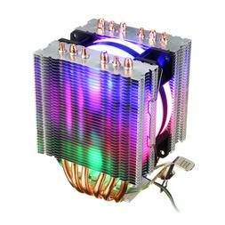 DIY Removable CPU Cooler RGB Cooling Fan for Intel 775 1150