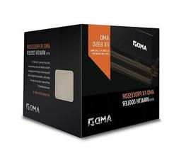 AMD FX-8350 CPU AM3+ 4.0GHz 8-Core Black Edition With Wraith