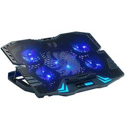 Rosewill Gaming Laptop Cooler Notebook Cooling Pad, 5 Silent