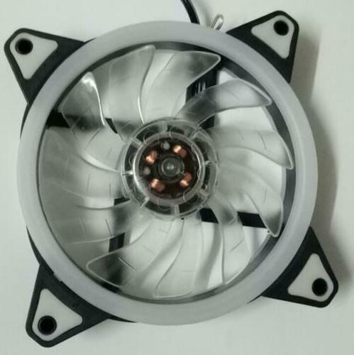 US 120mm Cooling Fan to 3Pin Case PC