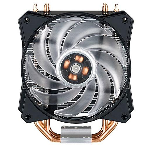Cooler Master RGB CPU Air Cooler 4 CDC Pipes Master Fan Support