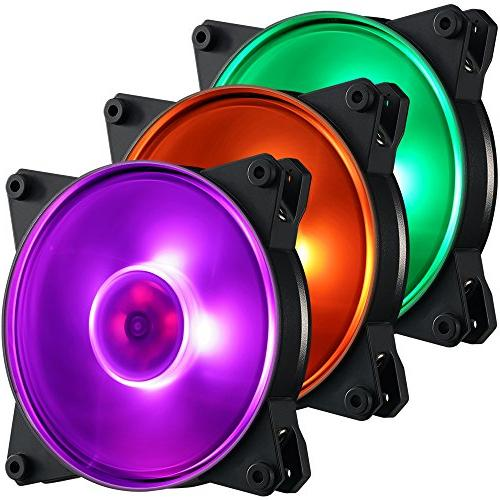 Cooler Pro 120 RGB- Static RGB 3 in 1 with RGB CPU Coolers and
