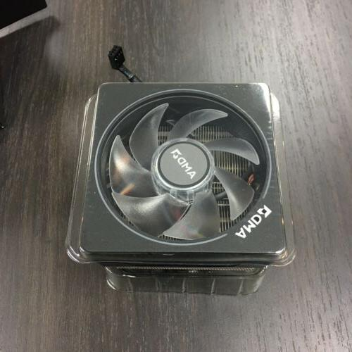 Wraith Prism LED Cooler from Ryzen 7 Processor AM4