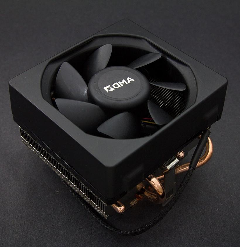 AMD WRAITH SILENT COOLER w/LED light FM2/FM1/AM3/AM2+/AM2 Up
