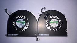 Left and Right Side CPU Cooling Fan Assembly For Apple MacBo