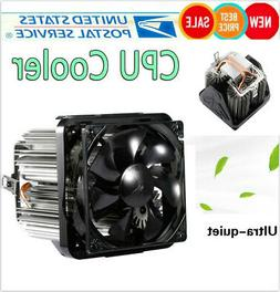 Long Life CPU Cooler Ultra Quiet 20dB with 90mm Fan Four-wir