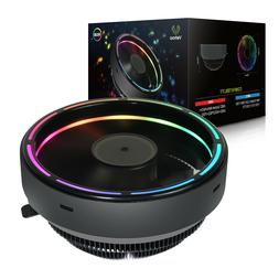 Vetroo M2 Top-Flow Air CPU Cooler Heastink with 125mm RGB LE