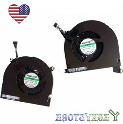 """New CPU Cooling Fan Left+Right for Apple Macbook Pro 17""""A129"""