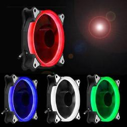 RGB Halo Ring LED 120mm For Computer PC CPU Cooler Case Cool
