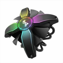 darkFlash Talon CPU Cooling Cooler RGB PWM Fan with 4 Heatpi